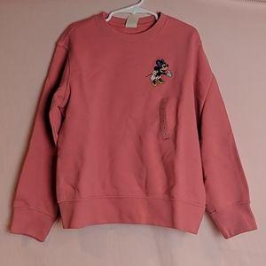 Disney x Uniqlo Minnie Sweatshirt